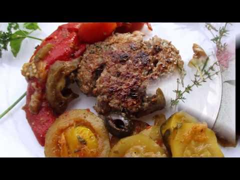 recette-de-steaks-de-viande-hachée-ratatouille-cuisson-à-la-plancha