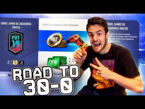 ROAD TO 30-0 Y ABRIENDO SOBRES DE LA CHAMPIONS!!