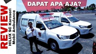 Explorasi Mobil Ambulance dari HILUX Single Cabin Toyota Indonesia