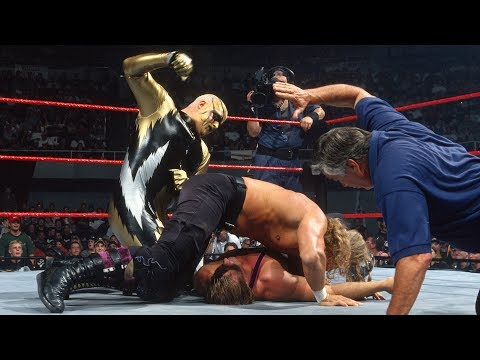Owen Hart vs. Goldust vs. Triple H - Triple Threat Intercontinental Title Match: Raw, June 23, 1997
