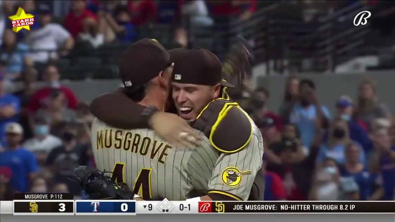 San Diego-area native Joe Musgrove throws first no-hitter in Padres ...