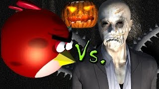 ANGRY BIRDS vs. SLENDERMAN - Halloween special ♫ 3D animated  game mashup  ☺ FunVideoTV - Style ;-))