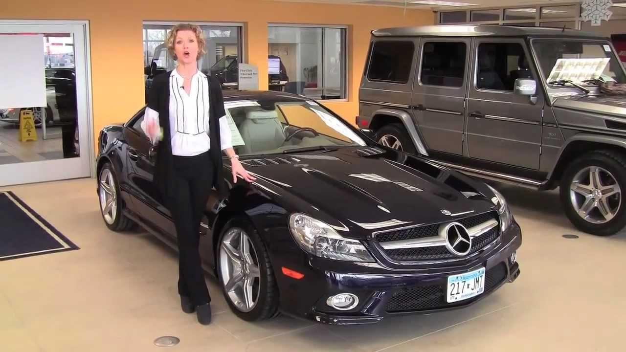 2009 Mercedes SL550 Feldmann Imports Bloomington ...