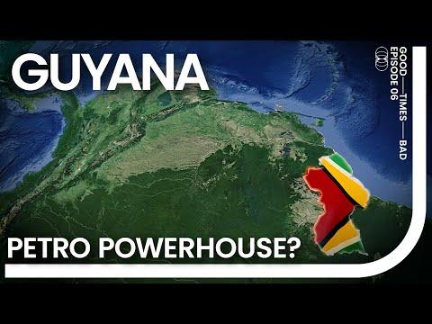 Geoeconomics of Guyana. 86% GDP increase?