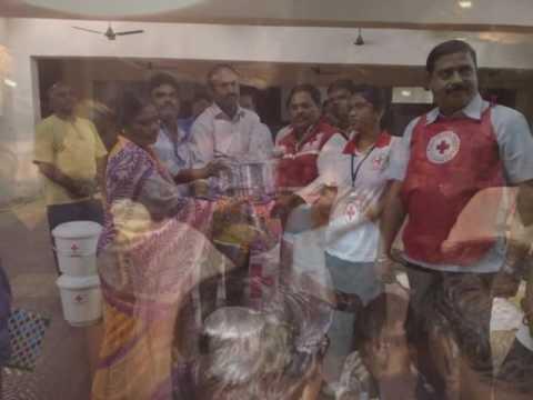 Red Cross Hyderabad Food Distribution