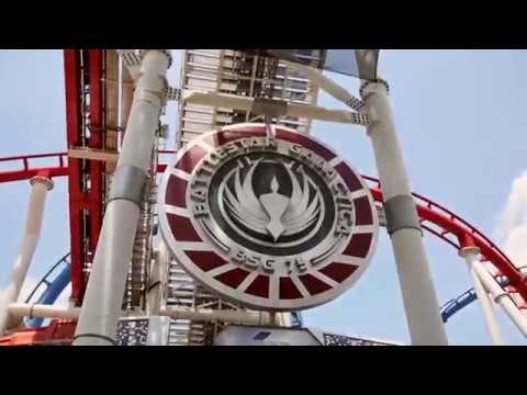 Universal Studio Singapore - Battlestar Galactica Human Cyclon