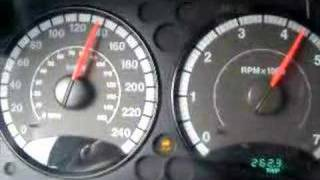 2007 jeep liberty Acceleration