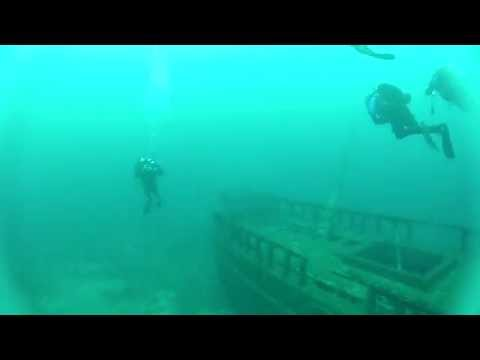 Diving The Wreck of The Northerner in Lake Michigan