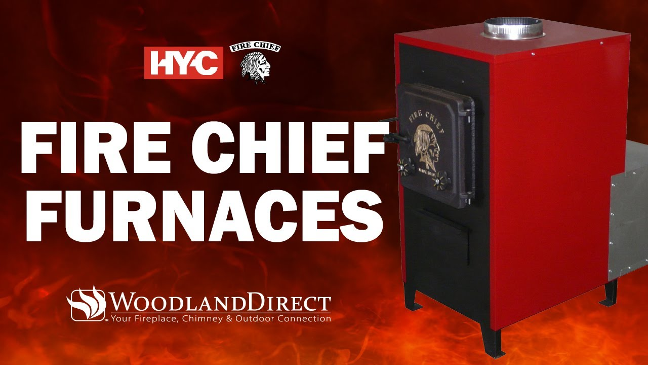 Fire Chief Wood Burning Furnaces - YouTube
