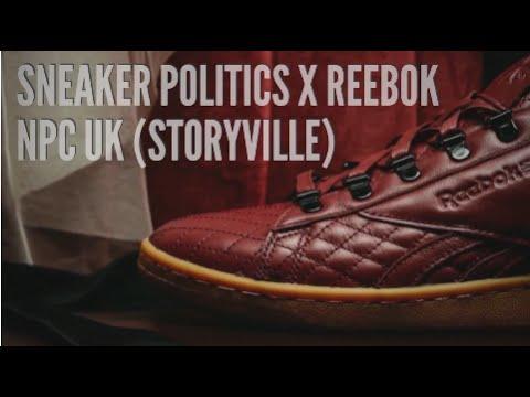 SNEAKER POLITICS x REEBOK NPC UK (STORYVILLE)   SNEAKERS T - YouTube 6fb47b663