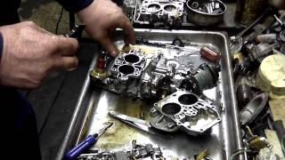 Ремонт автомобиля. Ford Granada. [Часть 4] Карбюратор. Зажигание. CO2.
