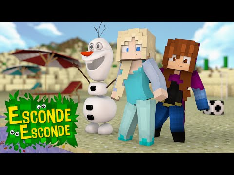 Minecraft: FROZEN NO VERÃO! (Esconde-Esconde)