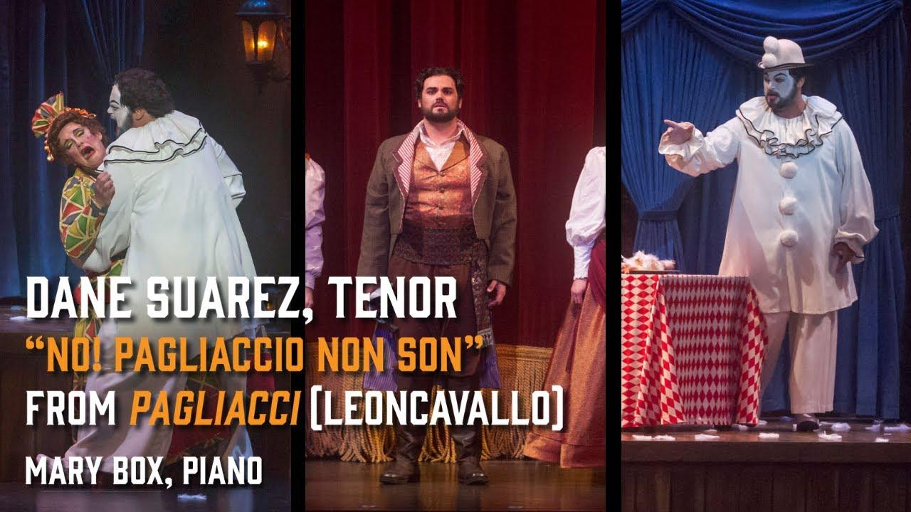 """""""No, Pagliaccio non son"""" from Pagliacci (Leoncavallo) - Dane Suarez, tenor - 11/29/20"""