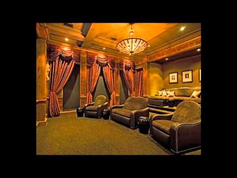Home Theater Curtains Ideas