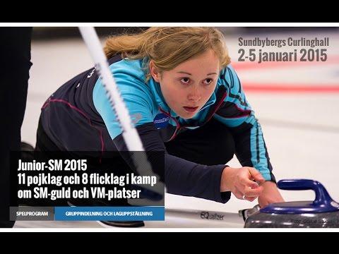 CURLING: Ö-sund Woolpower - Umeå Wendel JSM 2015 - Girls Draw 3