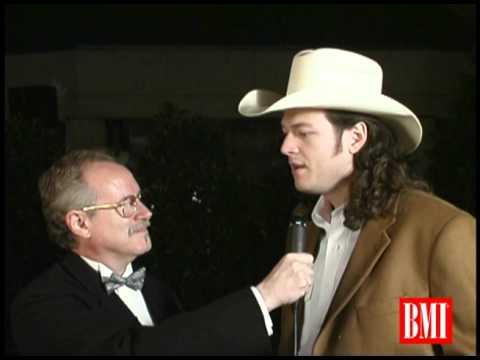 Blake Shelton Interviewed at BMI Country Awards 2001
