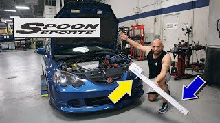 Gambar cover RSX DC5 BUILD - Spoon Sports parts | NEW CAMERA for the DC5