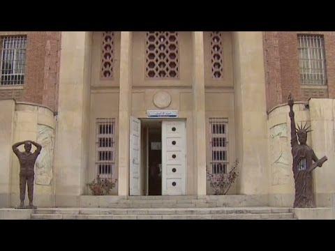 Rare glimpse inside former U.S. embassy in Iran