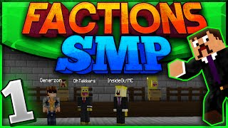 Minecraft Factions SMP #1 - Let The War Begin!