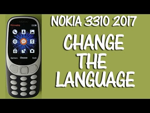 nokia 3310 sprache