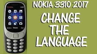 Nokia 3310 2017 How to Change the Language