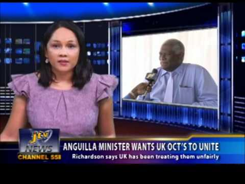 ANGUILLA MINISTER WANTS UK OCT'S TO UNITE