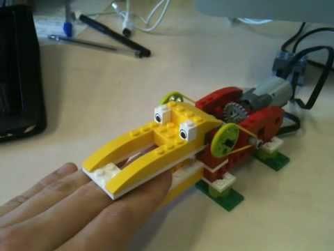 Lego Wedo Krokodil Met Scratch Youtube