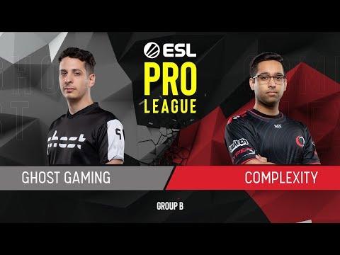 CS:GO - compLexity vs. Ghost [Mirage] Map 1 - Group B - ESL Pro League Season 9 Americas