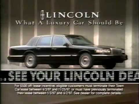 September 1997 - Savings on the Lincoln Town Car