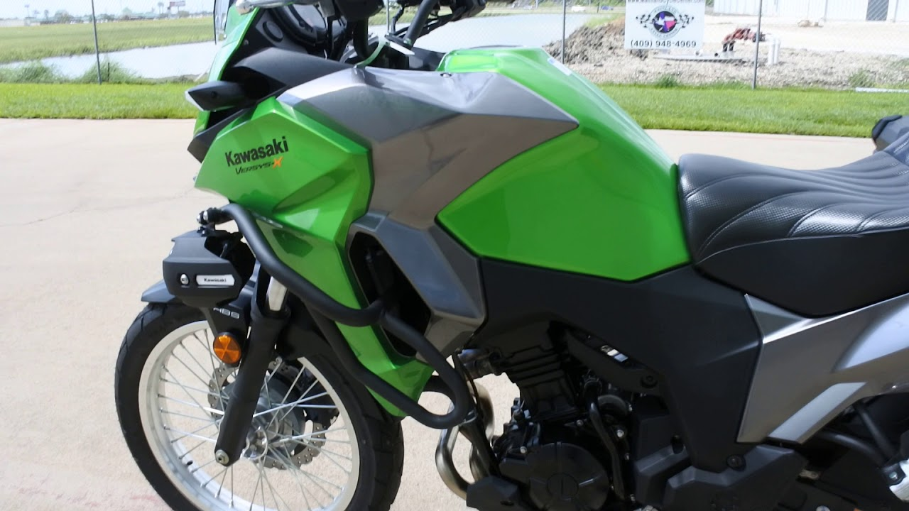 $6,599: 2017 kawasaki versys x abs with corbin seat and more