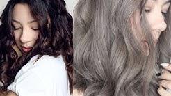 GREY HAIR : FROM BROWN TO ASH GREY HAIR