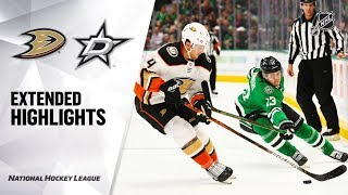Anaheim Ducks vs Dallas Stars | Oct.24, 2019 | Game Highlights | NHL 2019/20 | Обзор матча