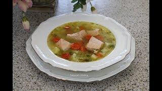 Уха - Суп по домашнему из Семги. Просто Вкусно!