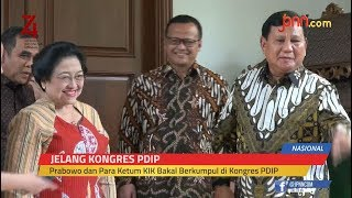 Prabowo dan Para Ketum KIK Bakal Berkumpul di Kongres PDIP
