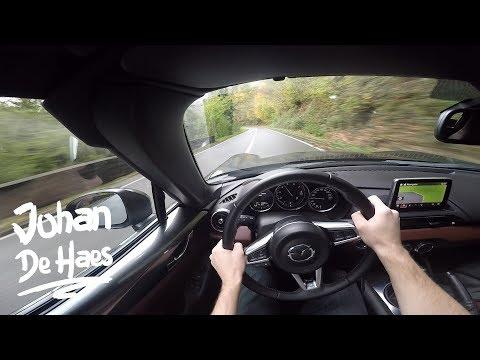 2017 Mazda MX-5 RF 160 hp POV Test drive