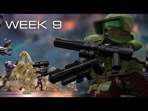 Building Kashyyyk in LEGO - Week 9: Army Building