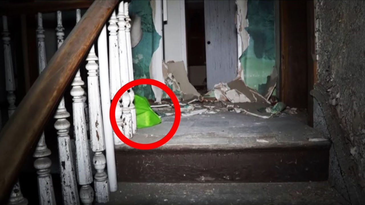 Man Makes Scary Discovery In Abandoned Apartment Building