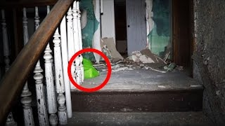 Man Makes Terrifying Discovery In Abandoned Apartment Building