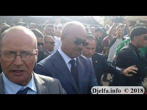 غضب أبناء الجلفة  من زيارة  وزير الداخلية بسبب الحقرة و الاهانة التي لحقت بالمنطقة