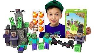 Майнкрафт іграшки Minecraft Toys Майнкрафт - іграшки Для Хлопчиків Огляд іграшок Minecraft