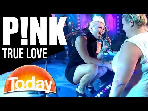 P!NK performs 'True Love' | TODAY Show Australia