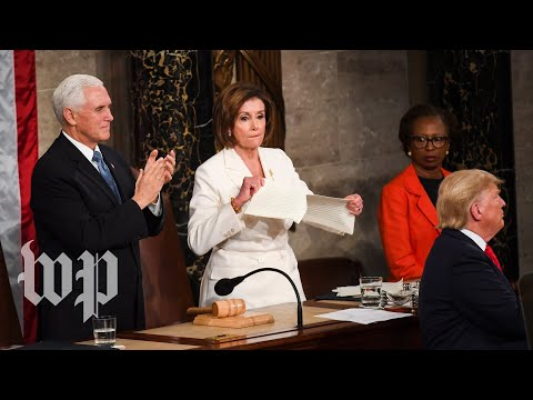 Democrats didn't hide their disdain for Trump's State of the Union address