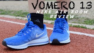 NIKE AIR ZOOM VOMERO 13 REVIEW 2018