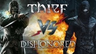 Рэп Баттл - Thief vs. Dishonored