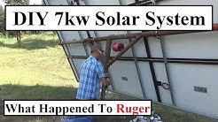 #353 - Off Grid Solar System Works Great! Where's Ruger? Cheyenne Gets A Jeep