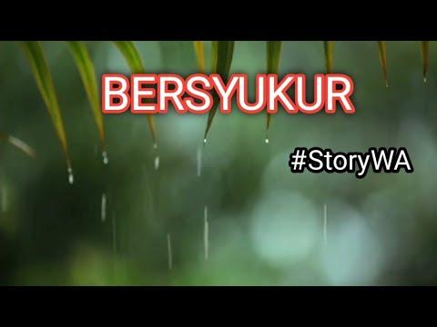 STORY WA - JUMAT - BERSYUKUR