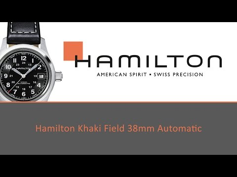 Hamilton Khaki Field Auto 38mm H-10 Review