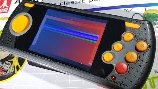 Classic Game Room - ATARI FLASHBACK PORTABLE review