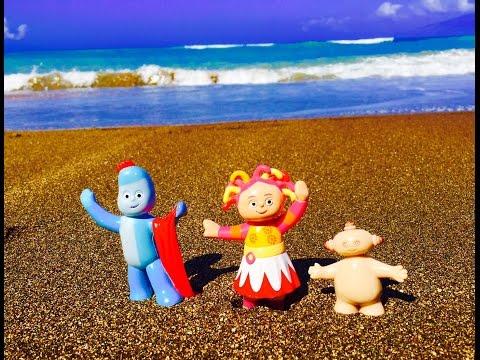 Iggle Piggle, Upsy Daisy and Makka Pakka Visit The Ocean!