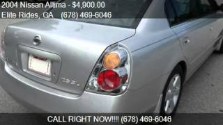 2004 Nissan Altima BASE for sale in LAWRENCEVILLE, GA 30044